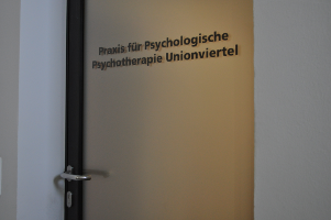 Psychotherapie Unionviertel Eingangstuer