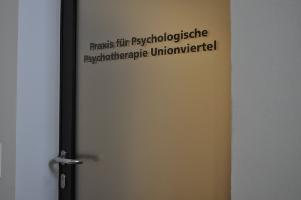 Psychotherapie Unionviertel Eingangstuer